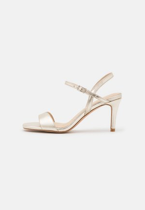LEATHER - Sandals - gold