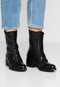 A.S.98 - Lace-up ankle boots - nero - 0
