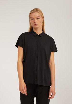 NAALA - Button-down blouse - black