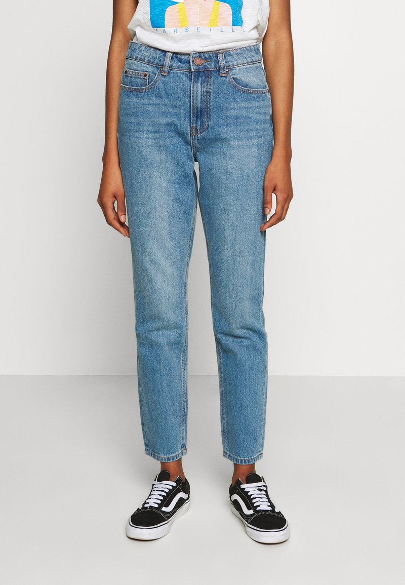 Lost Ink - VINTAGE MOM AUTHENTIC - Relaxed fit jeans - mid denim