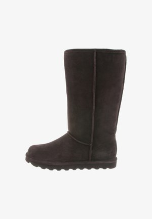 ELLE TALL - Winter boots - chocolate