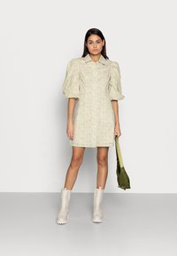 Birgitte Herskind - AMI DRESS - Robe chemise - yellow liberty - 1