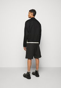 Neil Barrett - TRAVEL SLIM BOMBER - Bomber Jacket - black/natural - 2