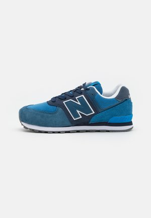 Baskets basses - natural indigo/oxygen blue