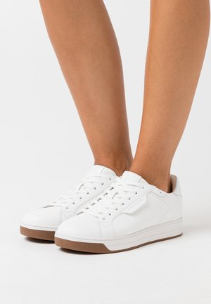 KEATING LACE UP - Sneakers laag - optic white