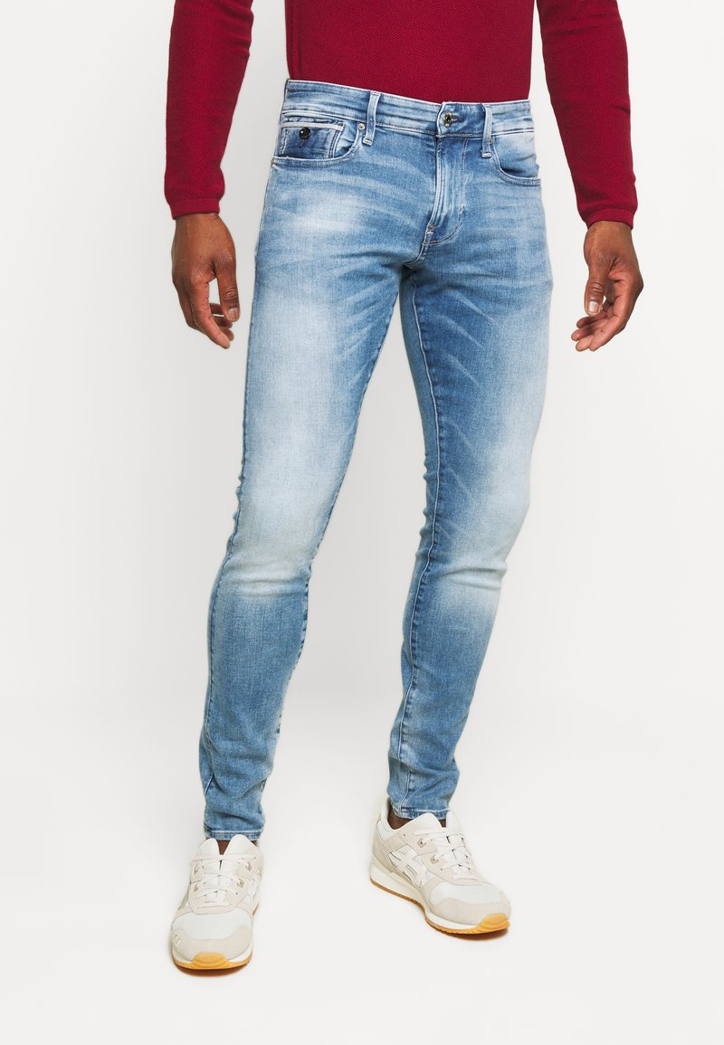 G-Star - REVEND N SKINNY - Slim fit jeans - blue denim
