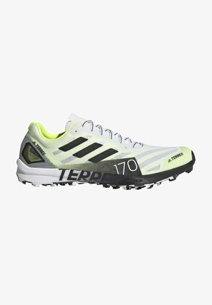 TERREX SPEED PRO  - Trail running shoes - white