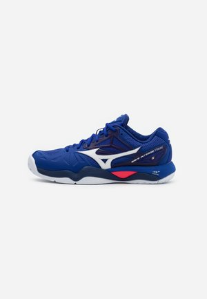 WAVE INTENSE TOUR 5 AC - Zapatillas de tenis para todas las superficies - reflex blue/white/diva pink