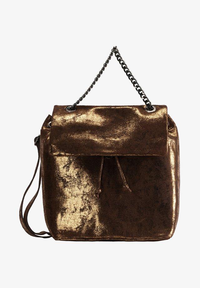 Rucksack - vintage gold