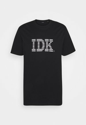 ONSPANCE LIFE TEE - T-shirt med print - black