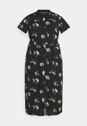 VMSIMPLY EASY LONG - Shirt dress - black