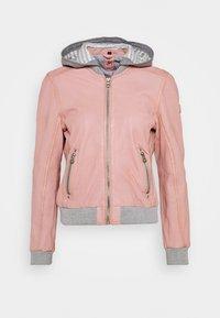 Gipsy - MOXI LULV - Leather jacket - rose - 4