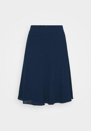 STELLY C - Áčková sukně - navy