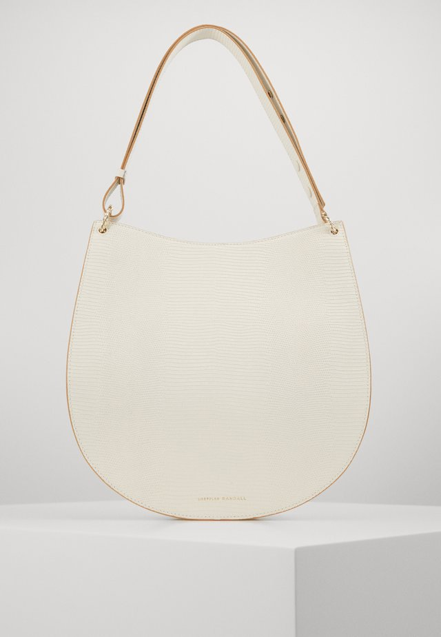CAROLINE TWISTED RING - Bolso de mano - cream
