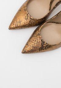 San Marina - GALICIA BIUTA - High heels - camel/or - 5