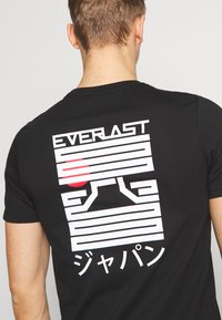 Everlast - OSAKA - Triko spotiskem - black - 6