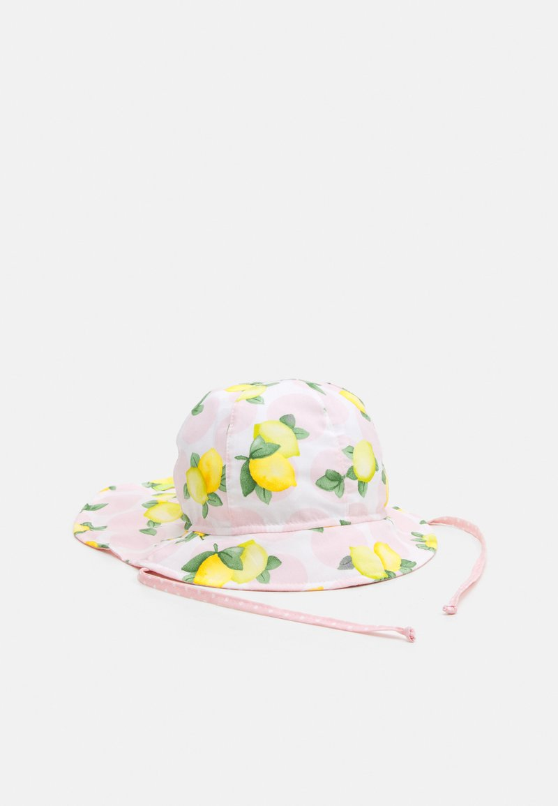 Maximo - MINI GIRL FLAPPER - Hat - rosa/gelb