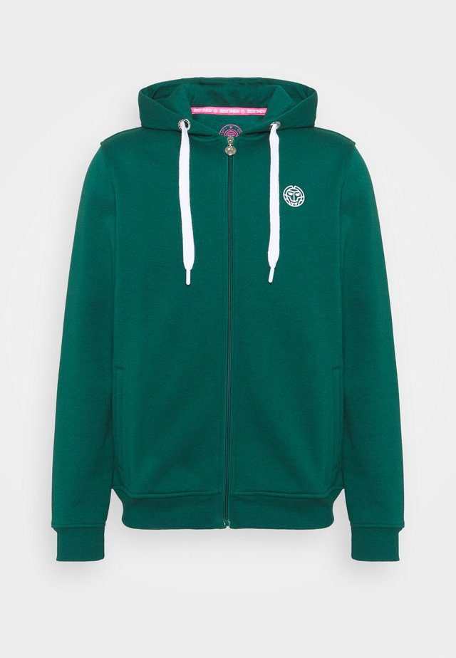 KENO BASIC JACKET - Mikina na zip - dark green