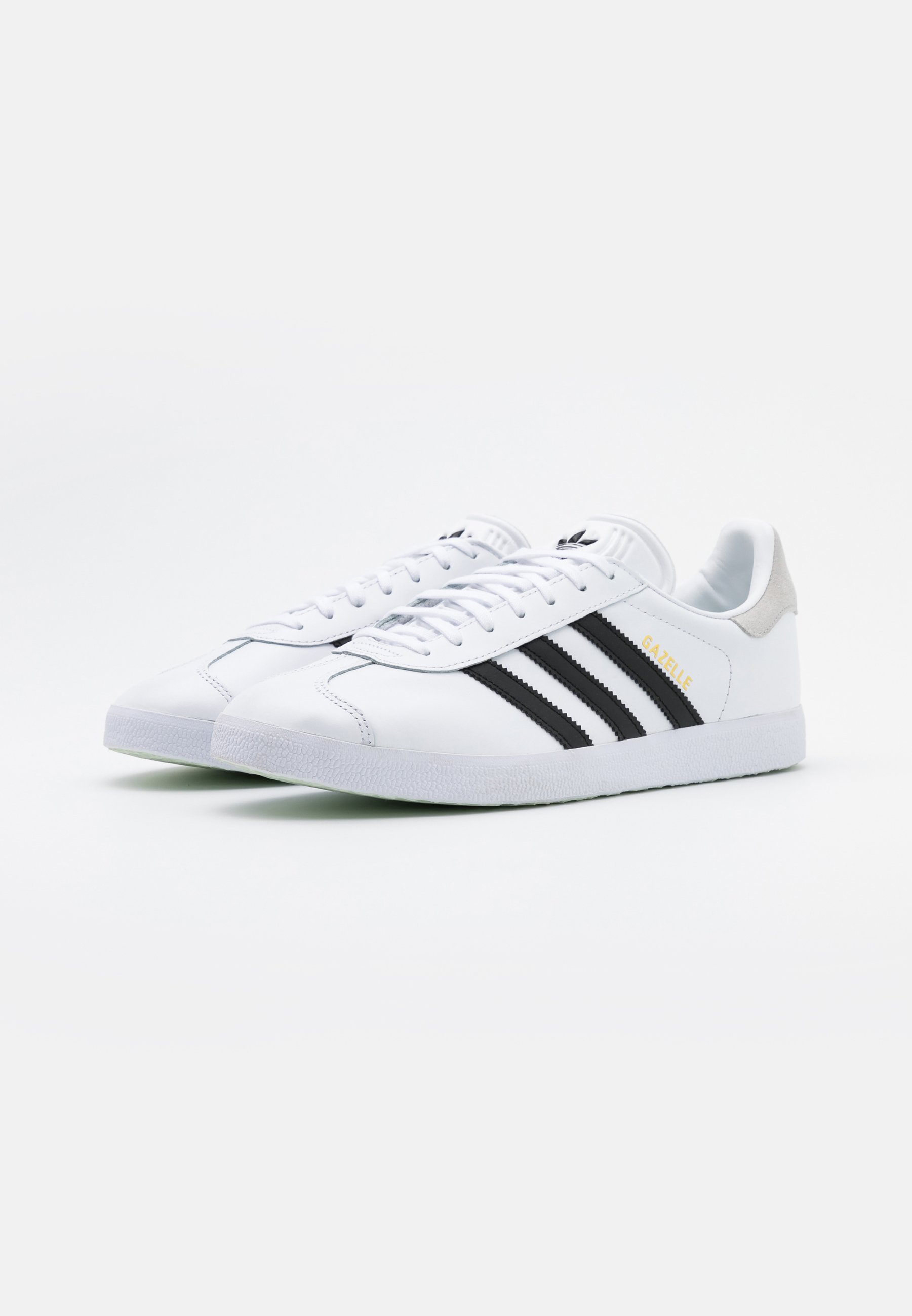adidas Originals GAZELLE - Joggesko - footwear white/core black/crystal white