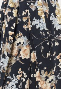Lauren Ralph Lauren - PRINTED FAILLE DRESS COMBO - Robe de soirée - lighh navy/yellow - 7