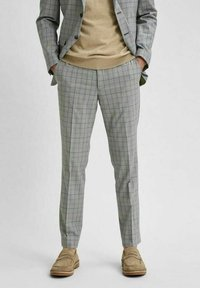 Selected Homme - Stoffhose - light grey - 0