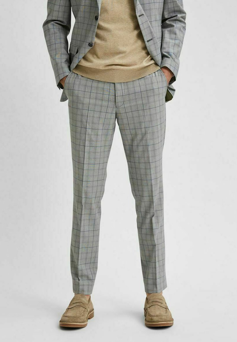 Selected Homme - Stoffhose - light grey