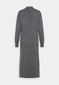YAS - Cardigan - dark grey melange - 6