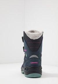 Lowa - MADDOX WARM GTX - Winter boots - steel blue/jade - 4