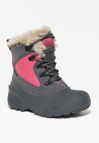 The North Face - Y SHELLISTA EXTREME - Winter boots - zinc grey/mr. pink - 2