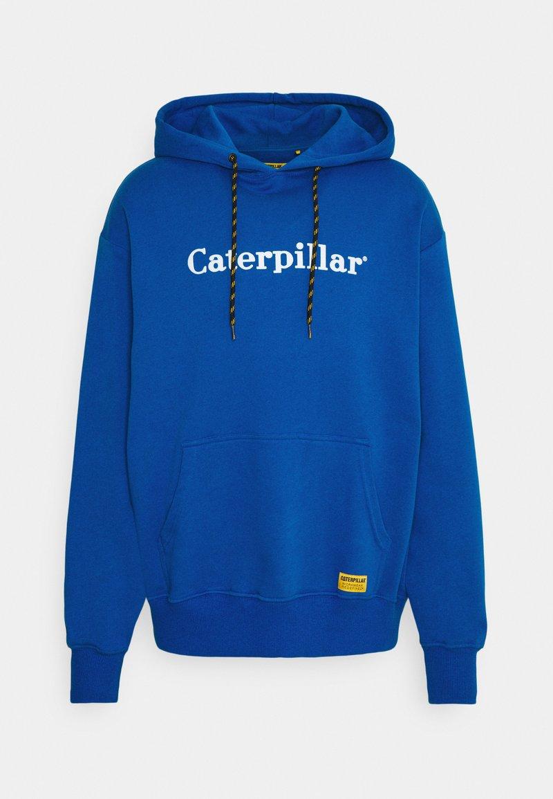 Caterpillar - HOODIE - Luvtröja - royal blue