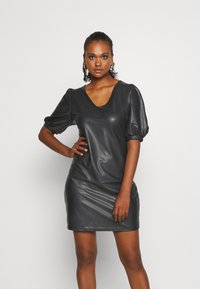 ONLY - ONLRACHEL PUFF DRESS  - Vestido de cóctel - black - 0