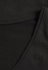 Anna Field Curvy - 2 PACK - Camiseta de manga larga - black - 5