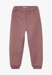 Wheat - THERMO ALEX - Trousers - plum - 3