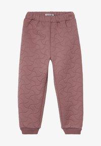 Wheat - THERMO ALEX - Pantalones - plum - 3