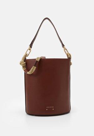 HOLLY SAC SEAU SET - Handbag - cognac