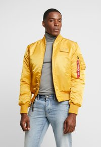 Alpha Industries - Bomber Jacket - wheat - 4