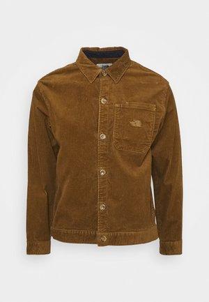BERKELEY OVERSHIRT UTILITY - Training jacket - utility brown