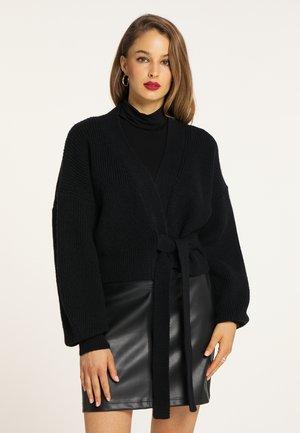 Cardigan - schwarz