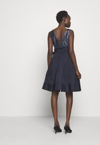 Lauren Ralph Lauren - MEMORY TAFFETA DRESS COMBO - Vestido de cóctel - lighthouse navy - 2