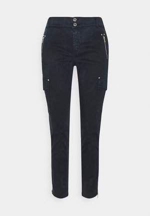 GILLES PANT - Cargo trousers - navy
