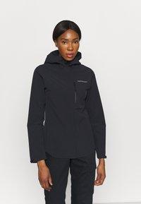 Peak Performance - XENON JACKET - Hardshell jacket - black - 0