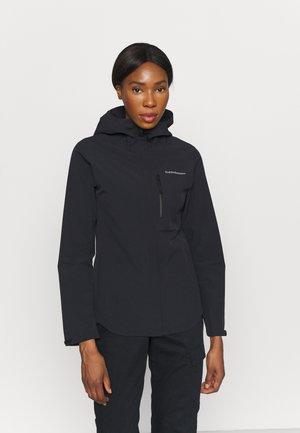 XENON JACKET - Hardshell jacket - black