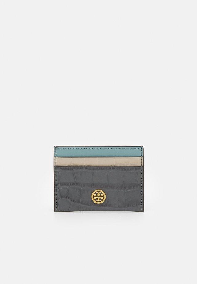 ROBINSON EMBOSSED COLOR-BLOCK CAR - Peněženka - grey