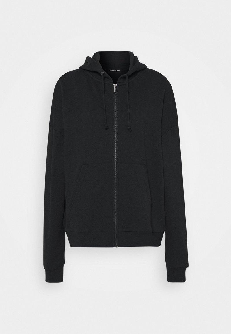 Even&Odd BASIC - Oversize Zip-up Hoodie - Sweatjacke - mottled light grey/hellgrau-meliert QGZvIq