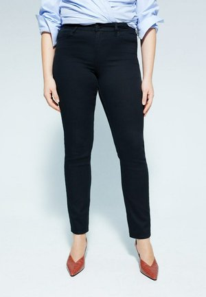 JULIE - Slim fit jeans - schwarz
