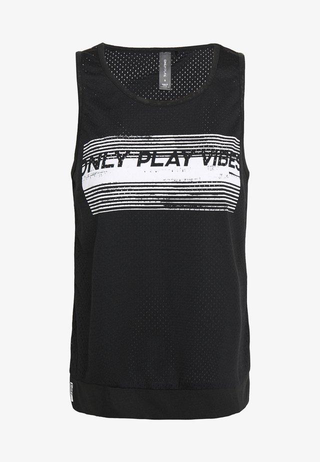 ONPANGILIA TRAINING PETITE - T-shirt de sport - black
