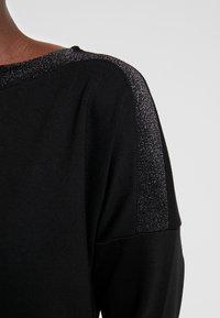 Opus - WILLIS GLITTER - Jersey dress - black - 6