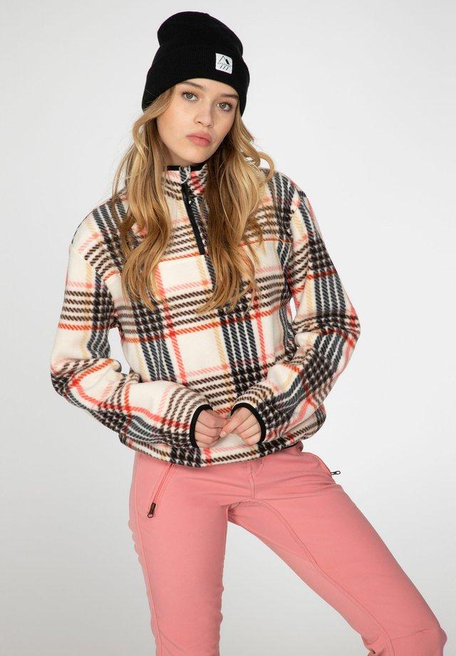BRITT - Fleece jumper - canvas