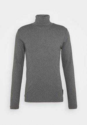 LONG SLEEVE TURTLE NECK - Langarmshirt - graphite grey melange
