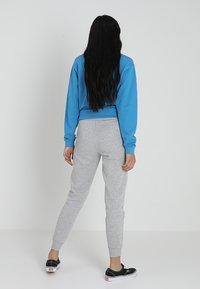 New Look - BASIC BASIC  - Tracksuit bottoms - grey marl - 2